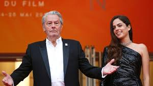 Exciting moment at Cannes. Alain Delon: I haven't cried so much. It's hard to leave