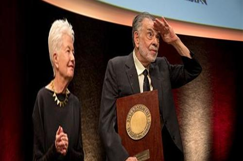 Cinema giant Francis Ford Coppola crowned with the Prix Lumière